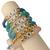 stack of 5 sorority bracelets