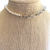 SBS Pearl and Silver Chain Necklace on Stand