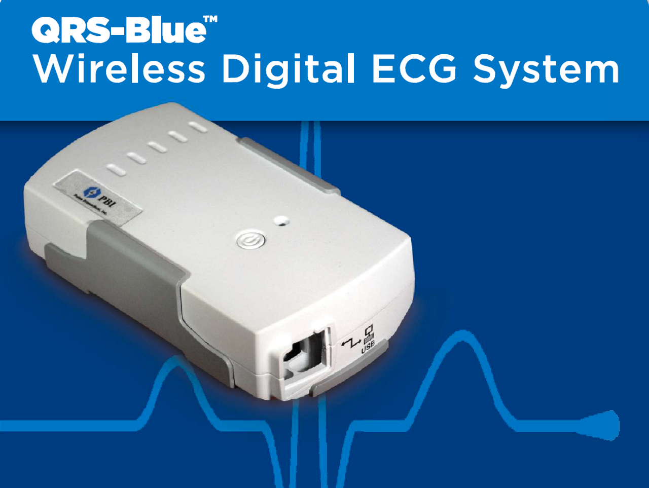 QRS Blue - Wireless Stress Test System