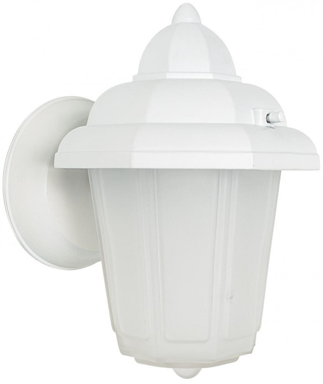 Sunset White Outdoor Wall Light F7804 30 The Home Lighting Shop