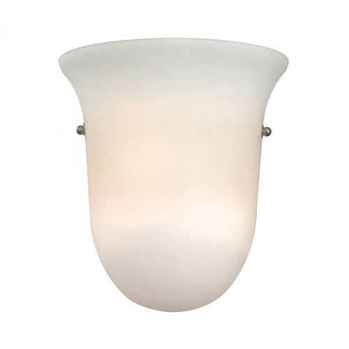 Wall Lights By Elk Cornerstone 1 Light Wall Sconce In Brushed Nickel 9x9.5 5121WS/99