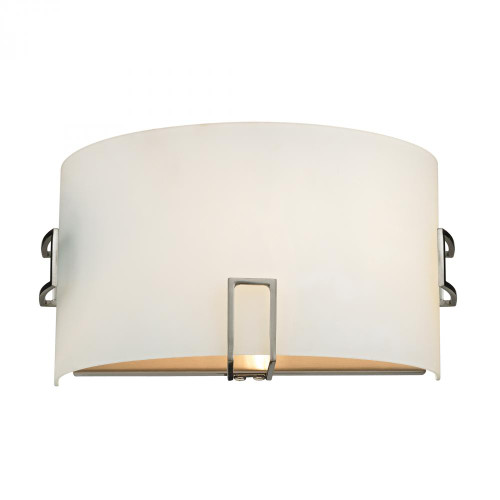 Wall Lights By Elk Cornerstone 1 Light Wall Sconce In Brushed Nickel 11x6 5131WS/20