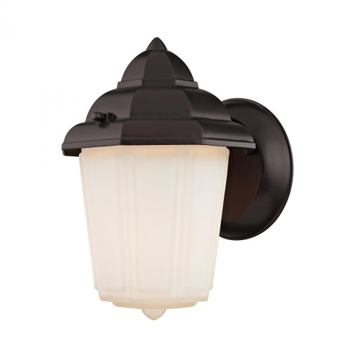 Outdoor Lights By Elk Cornerstone 1 Light Outdoor Wall Sconce In Oil Rubbed Bronze 6x9 9211EW/75