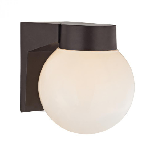 Outdoor Lights By Elk Cornerstone 1 Light Outdoor Wall Sconce In Oil Rubbed Bronze 6x7 9201EW/75