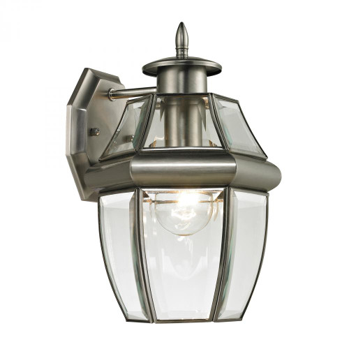 Outdoor Lights By Elk Cornerstone Ashford 1 Light Exterior Coach Lantern In Antique 8x12 8601EW/80