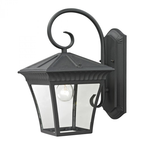 Outdoor Lights By Elk Cornerstone Ridgewood 1 Light Exterior Coach Lantern In Matt 9x15.25 8411EW/65