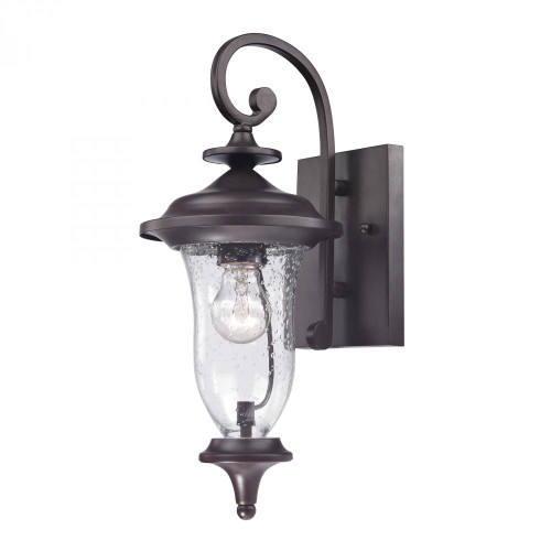 Outdoor Lights By Elk Cornerstone Trinity Coach Lantern In Oil Rubbed Bronze 7x16 8001EW/75