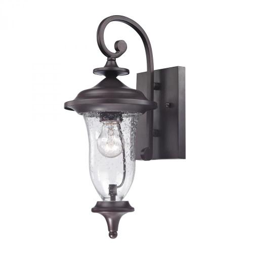 Outdoor Lights By Elk Cornerstone Trinity Coach Lantern In Oil Rubbed Bronze 7x16 8001EW/75