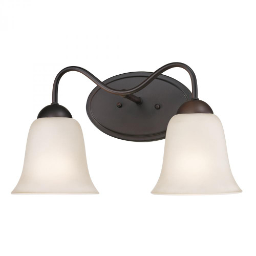 Wall Lights By Elk Cornerstone Conway 2 Light Bath Bar In Oil Rubbed Bronze 1252BB/10