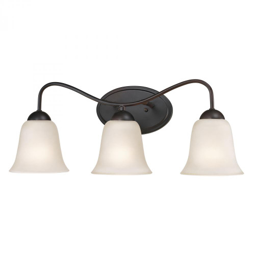 Wall Lights By Elk Cornerstone Conway 3 Light Bath Bar In Oil Rubbed Bronze 1253BB/10