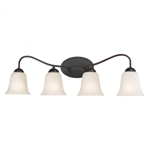 Wall Lights By Elk Cornerstone Conway 4 Light Bath Bar In Oil Rubbed Bronze 1254BB/10