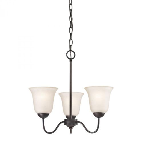 Chandeliers By Elk Cornerstone Conway 3 Light Chandelier In Oil Rubbed Bronze 1253CH/10