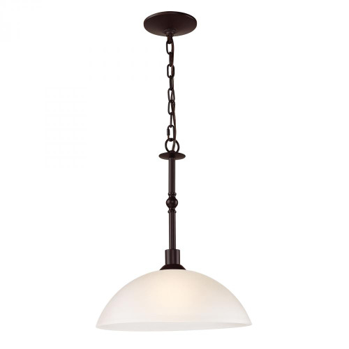 Chandeliers/Pendant Lights By Elk Cornerstone Jackson 1 Light Large Pendant In Oil Rubbed Bronze 1351PL/10