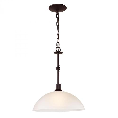 Chandeliers/Pendant Lights By Elk Cornerstone Jackson 1 Light Large Pendant In Oil Rubbed Bronze 1351PL/10