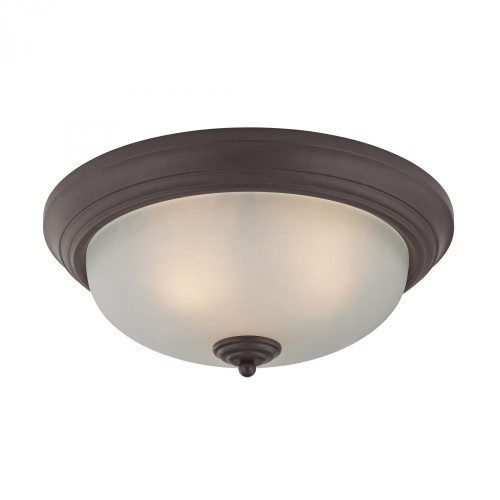 Ceiling Lights By Elk Cornerstone 3 Light Flush Mount In Oil Rubbed Bronze 7023FM/10