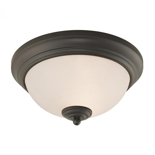 Ceiling Lights By Elk Cornerstone Huntington 2 Light Ceiling Lamp In Oil Rubbed Br 11x3 7052FM/10