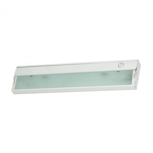 Wall Lights By Elk Cornerstone Aurora 2 Light Under Cabinet Light In White 4.75x4.75 A117UC/40