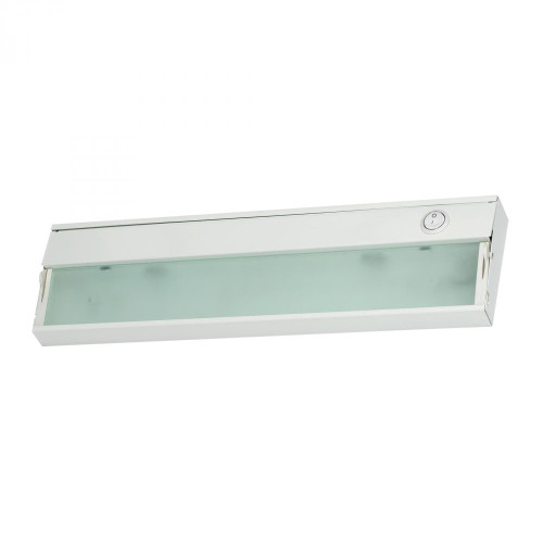 Wall Lights By Elk Cornerstone Aurora 1 Light Under Cabinet Light In White 4.75x4.75 A109UC/40