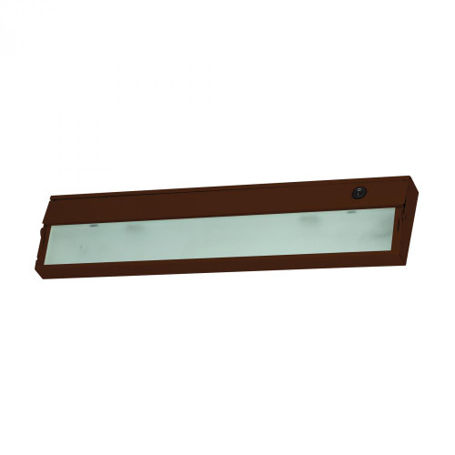 Wall Lights By Elk Cornerstone Aurora 2 Light Under Cabinet Light In Bronze 4.75x4.75 A117UC/15