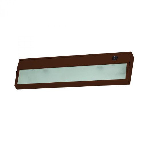 Wall Lights By Elk Cornerstone Aurora 1 Light Under Cabinet Light In Bronze 4.75x4.75 A109UC/15