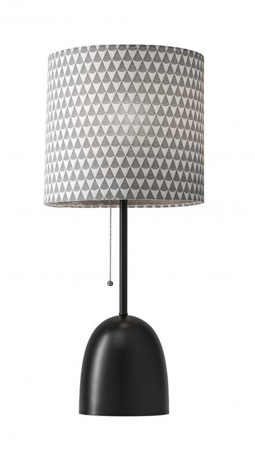 Lamps By Adesso Lola Table Lamp in Black 1500-01