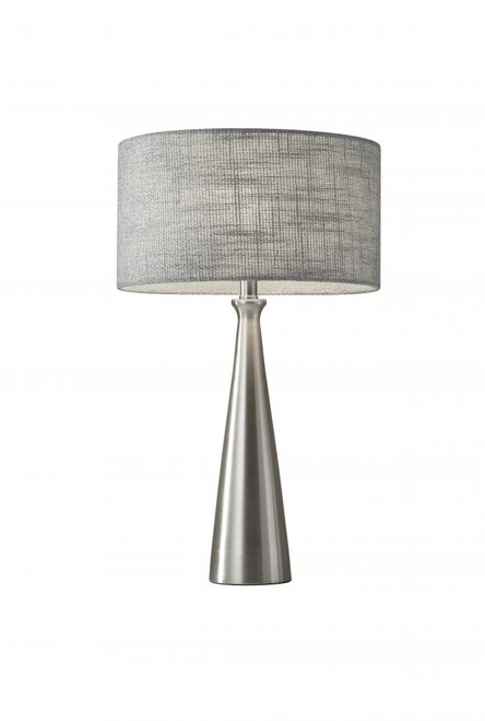 Lamps By Adesso Linda Table Lamp in Silver 1517-22