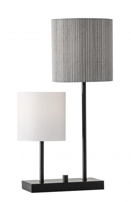 Lamps By Adesso Aubrey Table Lamp in Black 1530-01