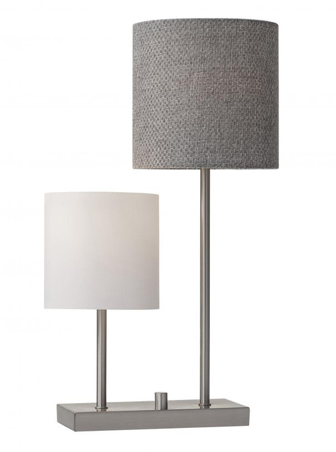 Lamps By Adesso Aubrey Table Lamp in Silver 1530-22