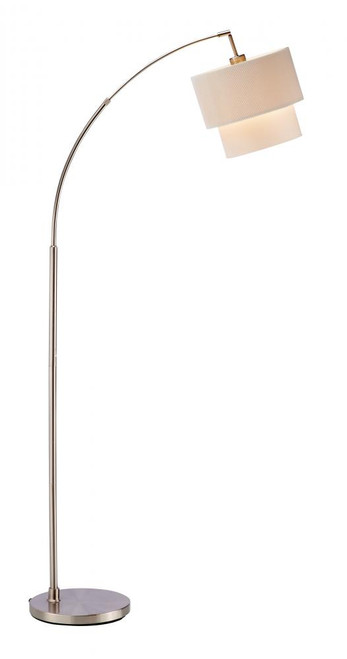 Lamps By Adesso Gala Arc Lamp in Silver 3029-12