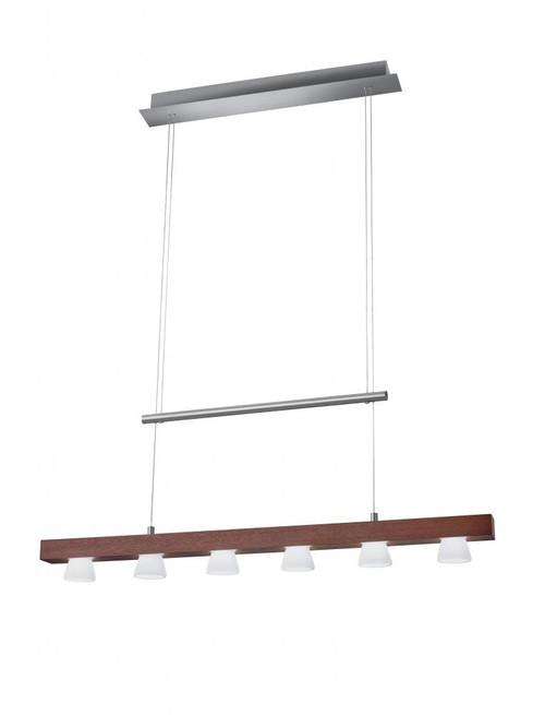 Chandeliers/Linear Suspension By Adesso Burlington LED 6 Light Adjustable Pendant 3098-15