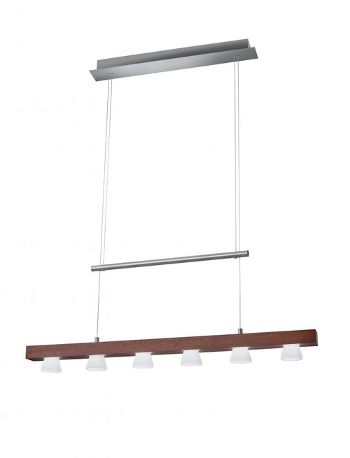 Chandeliers/Linear Suspension By Adesso Burlington LED 6 Light Adjustable Pendant 3098-15