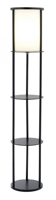 Lamps By Adesso Stewart Shelf Floor Lamp 3117-01