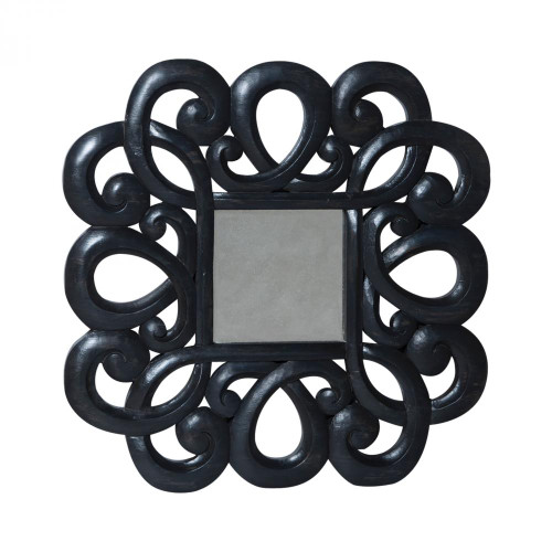 Brands/Guild Masters By Guild Masters Curled Antiqued Beveled Mirror 103504