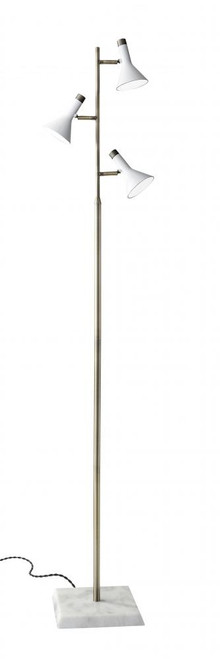 Lamps By Adesso Bennett LED Tree Lamp in White 3289-02