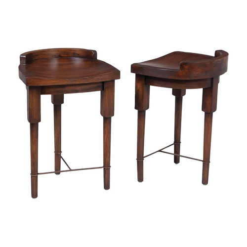 Brands/Guild Masters By Guild Masters European Farmhouse Counter Stool In Deep Forest Stain 654002