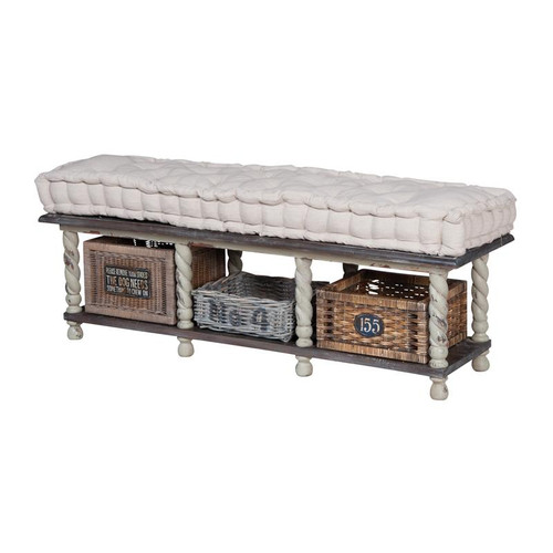 Brands/Guild Masters By Guild Masters European Farmhouse Storage Bench 654004