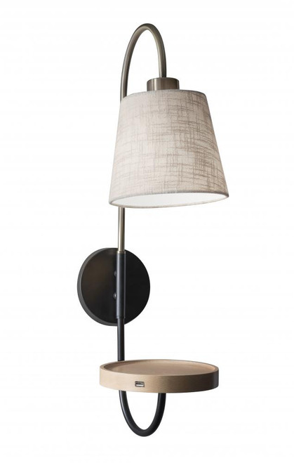 Wall Lights By Adesso Jeffrey Wall Lamp 3406-21