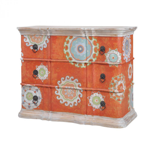 Brands/Guild Masters By Guild Masters Harmony Chest In Mottled Tangerine 6415506