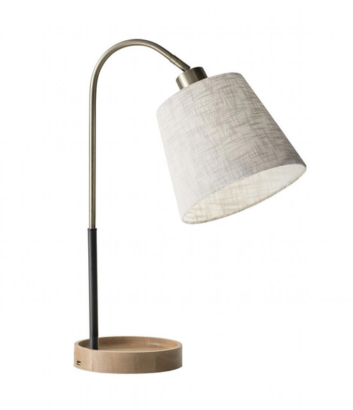 Lamps By Adesso Jeffrey Table Lamp 3407-21
