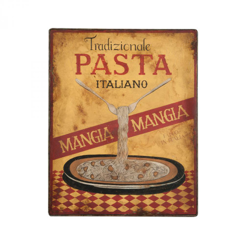 Brands/Guild Masters By Guild Masters Metal Pasta Sign 164049G