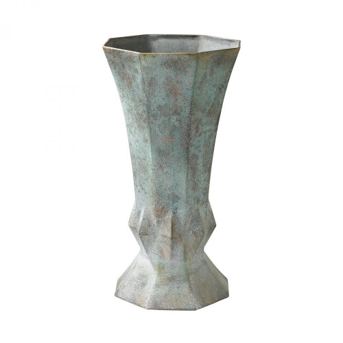 Brands/Guild Masters By Guild Masters Geometric Patina Vase 2100-015