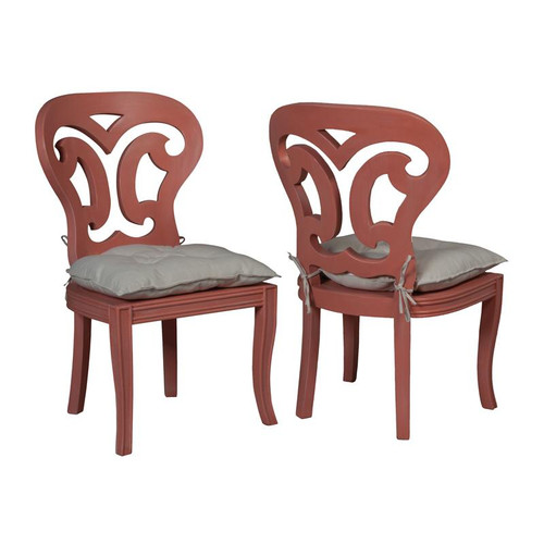 Brands/Guild Masters By Guild Masters Artifacts Side Chairs In Manor Melon - Set of 2 694510P