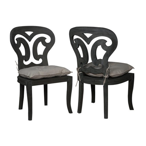 Brands/Guild Masters By Guild Masters Artifacts Side Chairs In Weathered Grey 694524P