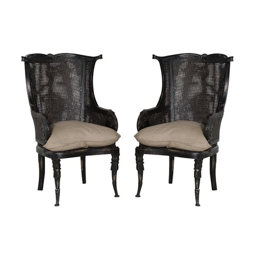 Brands/Guild Masters By Guild Masters Caned Wingback Chair 699019P
