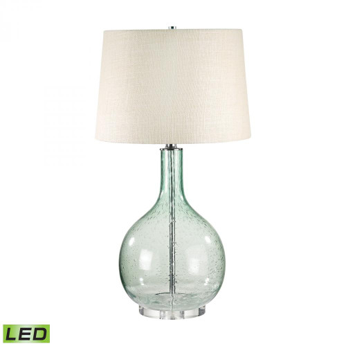 Lamps By Lamp Works Green Seed Glass LED Table Lamp 230G-LED