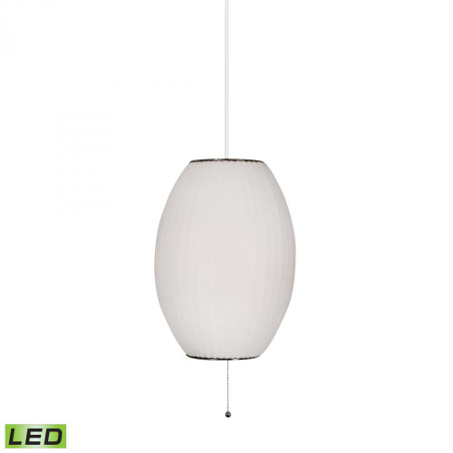 Chandeliers/Pendant Lights By Lamp Works Cigar LED Pendant In White 401-LED