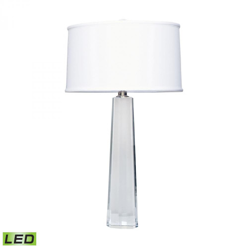 Lamps By Lamp Works Crystal Faceted Column LED Table Lamp 729-LED
