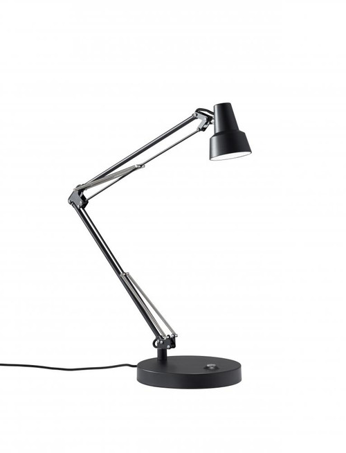 Lamps By Adesso Quest LED Desk Lamp in Black 3780-01