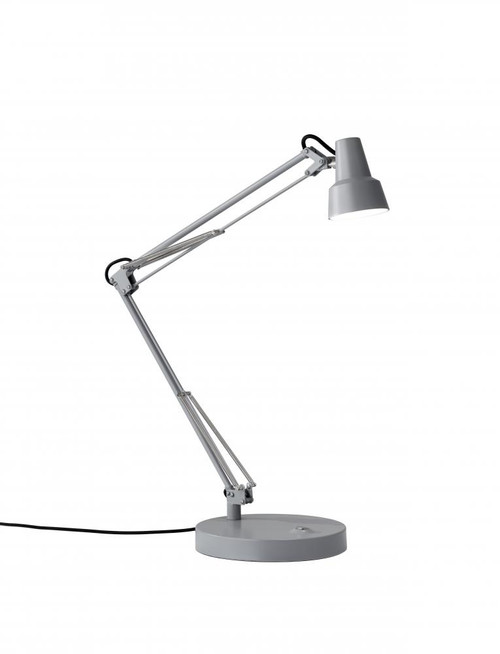Lamps By Adesso Quest LED Desk Lamp in Grey 3780-03