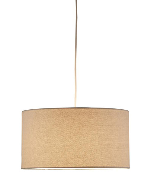 Chandeliers/Pendant Lights By Adesso Harvest Drum Pendant in Brown 4001-12